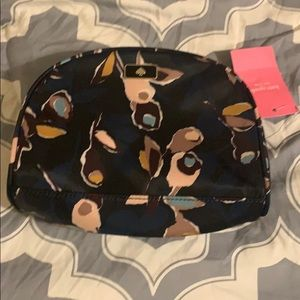 Kate Spade floral cosmetic bag - brand NEW cute